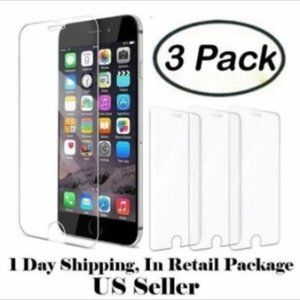 Apple iPhone 6 Screen Protector 3 Pack 9H Hardenes